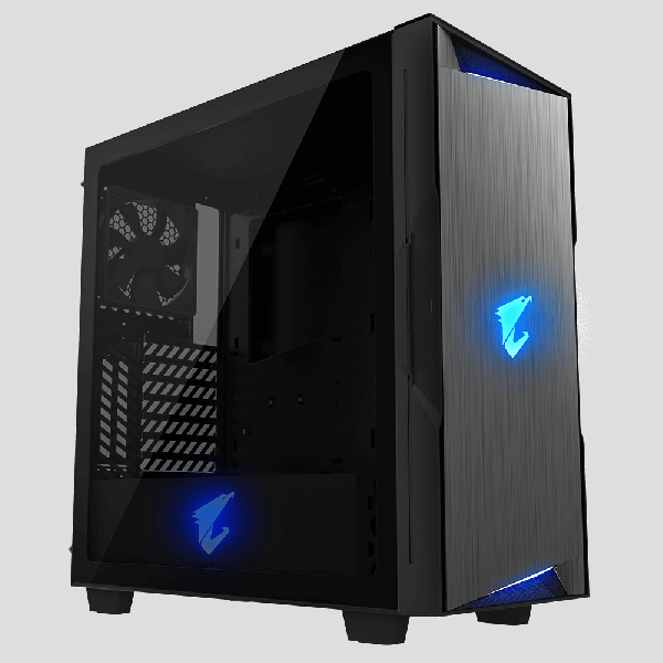 Представлен компьютерный корпус Gigabyte Aorus C300 Glass