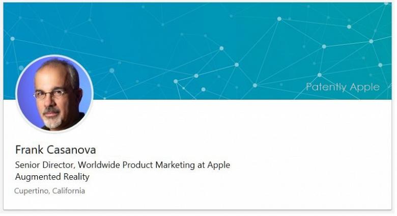 Казанова будет продвигать продукцию Apple на рынке дополненной реальности
