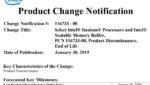 Названа дата отгрузки последних процессоров Intel Itanium