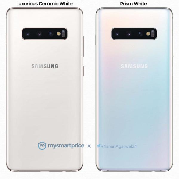 Первый взгляд на самый дорогой Samsung Galaxy S10+ в белом керамическом корпусе