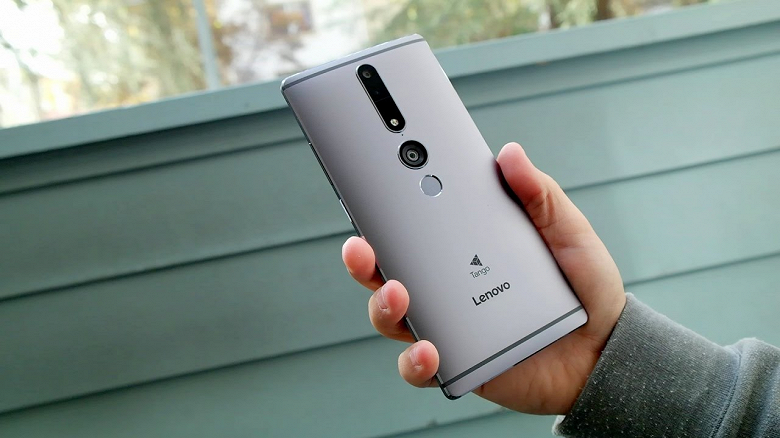 Огромный смартфон Lenovo Phab 3 получит экран диагональю 7,8 дюйма