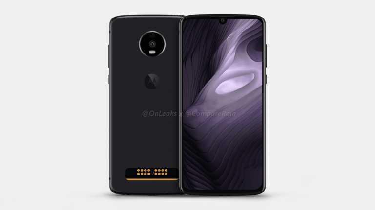 Смартфон Moto Z4 Play обзаведётся 48-мегапиксельной камерой и подэкранным дактилоскопом
