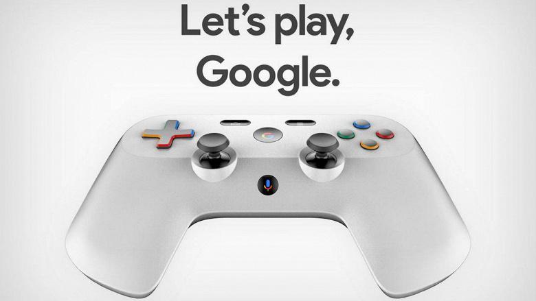 Появились первые изображения геймпада Google
