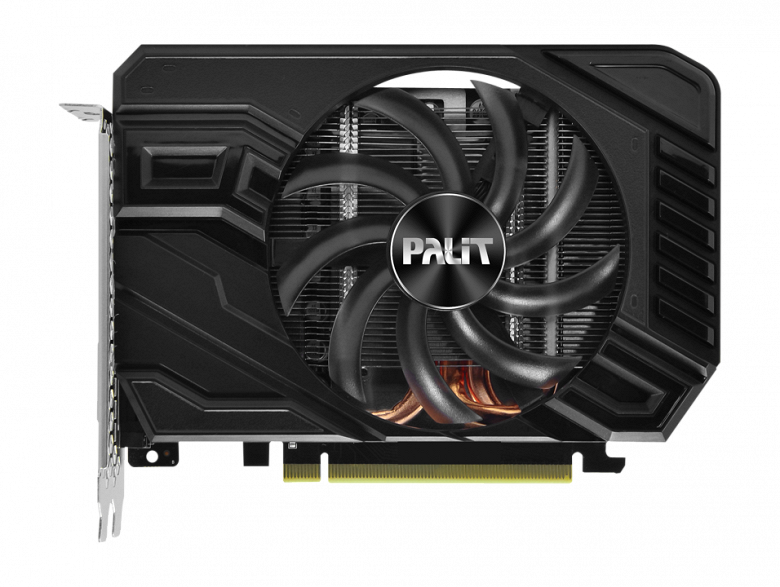 Palit выпустила одну из самых компактных версий видеокарты GeForce GTX 1660