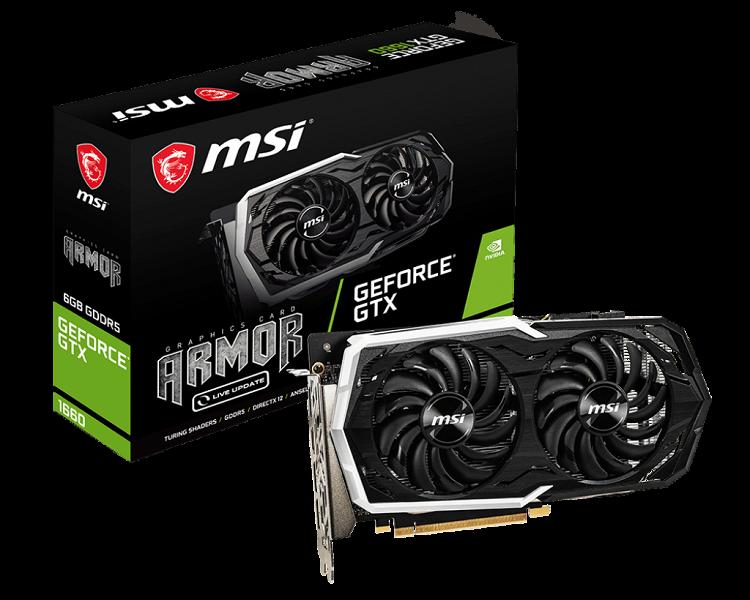 Чем больше, тем лучше: MSI выпустила восемь моделей видеокарты GeForce GTX 1660