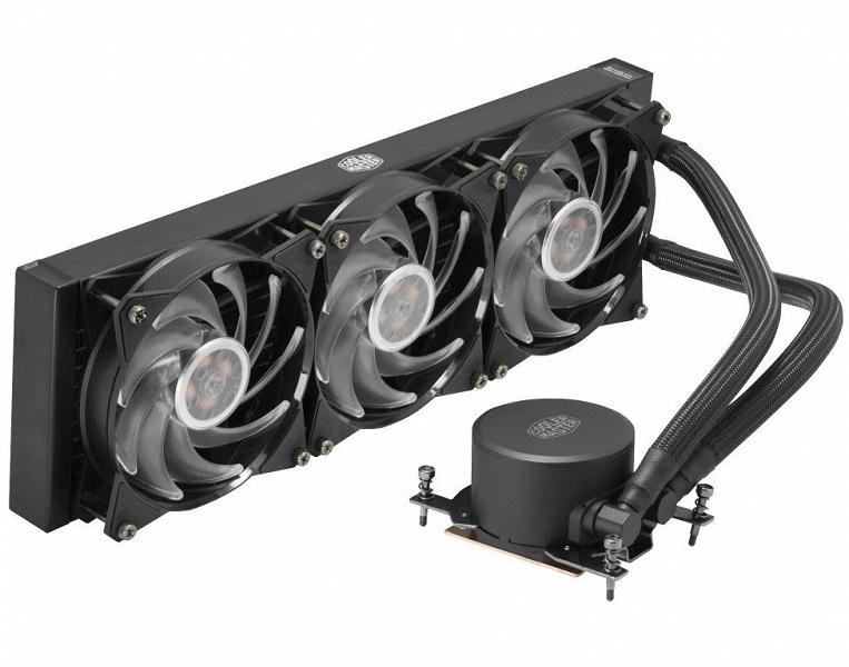 Системы жидкостного охлаждения серии Cooler Master MasterLiquid ML RGB стали доступны в вариантах TR4 Edition
