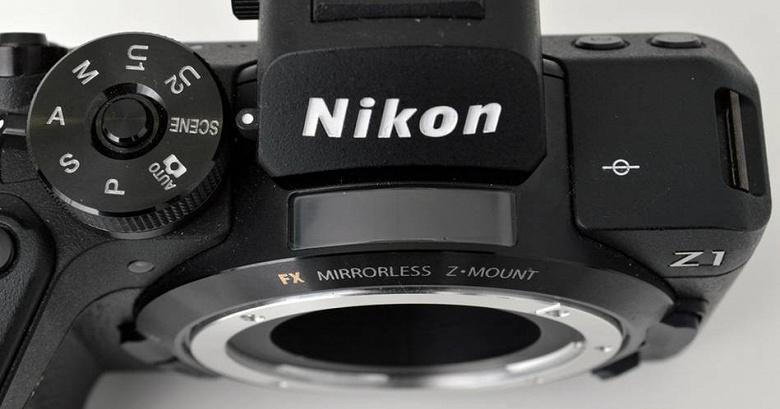 Появилось первое изображение полнокадровой камеры начального уровня Nikon Z1